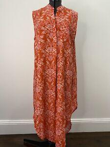 Label Of Love Sleeveless Shirt Midi Dress Size 8 EUC