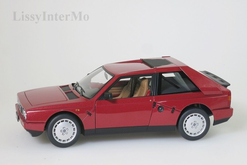 LANCIA DELTA s4 1985 Rosso Autoart 1 18 Nuovo Scatola Originale