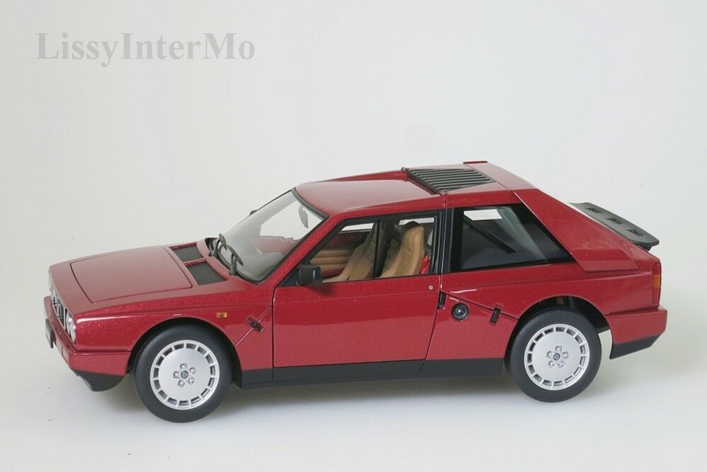 Lancia Delta S4 1985 rot  Autoart 1 18 NEU OVP