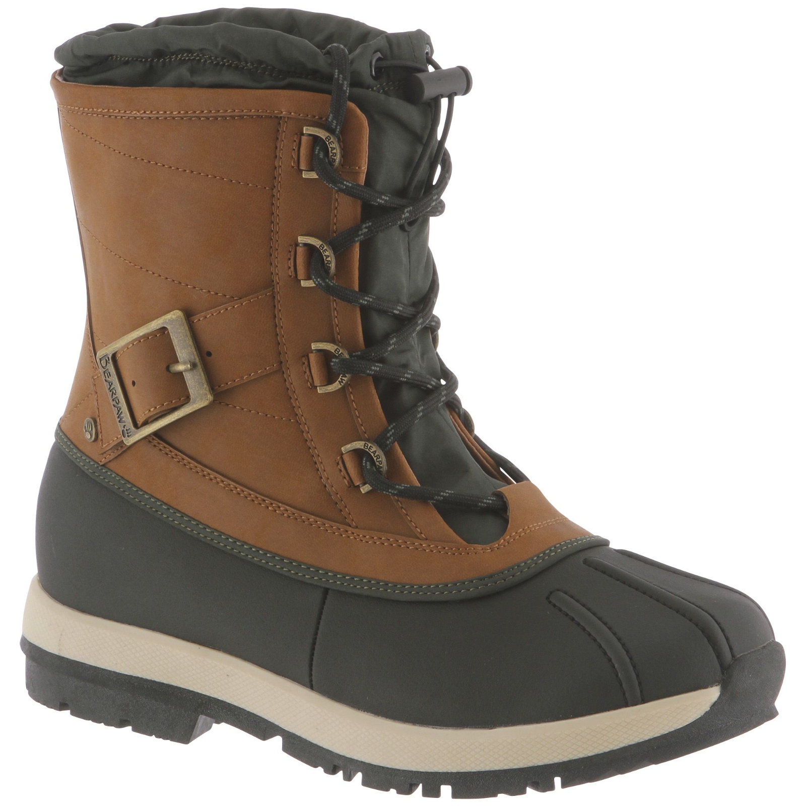 Women's Bearpaw Nelly Nelly Nelly Waterproof Boot Hickory Size 6  UT467-1086 0004af