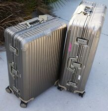 "RIMOWA TOPAS TITANIUM 32"" + 29"" TROLLEY MULTIWHEEL LUGGAGE"