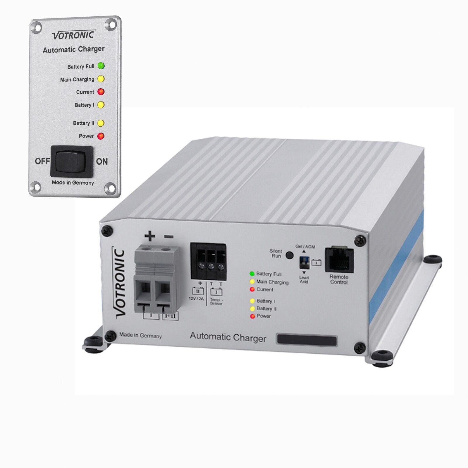 Votronic PB 1230 1230 1230 SMT 2B Neue Serie für Blei-und Lithiumbat.+ Fernbedienung S 06cb64