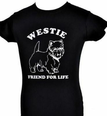 This Guy Loves His Westie Dog Pet Mens Unisex Sweatshirt Size S-XXL