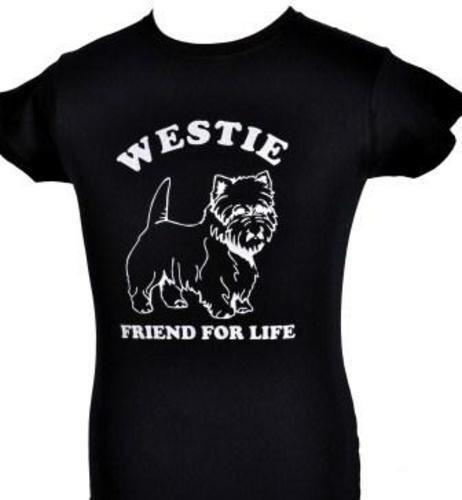 Westie chien amant animaux drôle homme femme t-shirt taille s-xxl
