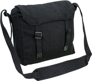 Image Is Loading Mens Army Surplus Military Canvas Travel Shoulder Messenger