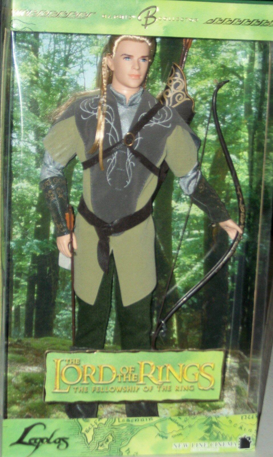 en linea Señor De Los Anillos Hobbit Legolas Legolas Legolas beca De Muñeca Barbie Ken Figura Regalo De Navidad  sin mínimo