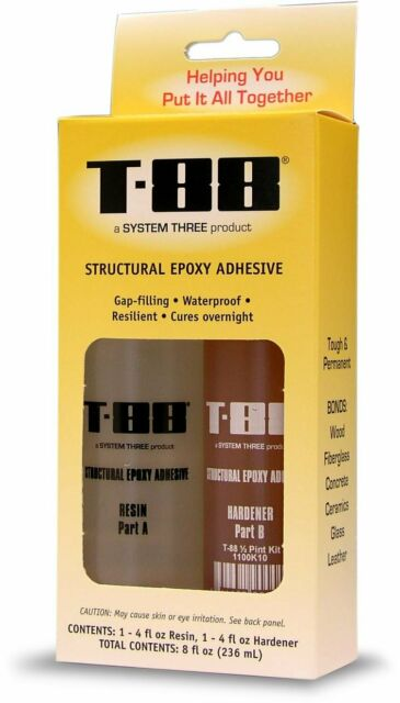 1 Quart Bottle System Three 1100K16 T-88 Kit Amber