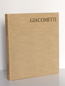 Alfredo-Giacometti-Texte-de-Jacques-DUPIN-Maeght-Editeur-1962-Relie-toile