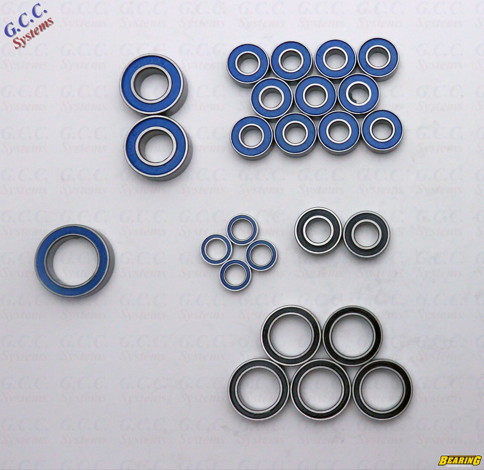 Quality Replacement Bearing Set For Traxxas Stampede 4x4 VXL - BRAND NEW