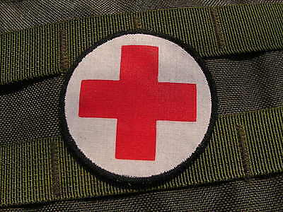 "Patch SCRATCH "" ROND MEDIC "" medical INFIRMIER médecin pour EQUIPEMENT IFAK"