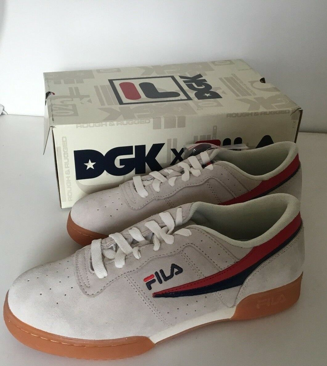 Fila Fitness Original x x x DGK  uomo suede scarpe skate scarpe da ginnastica 7fd30c