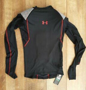 Under Armour Hockey Compression Padded Shirt Black 1232757 001 Men/'s Large