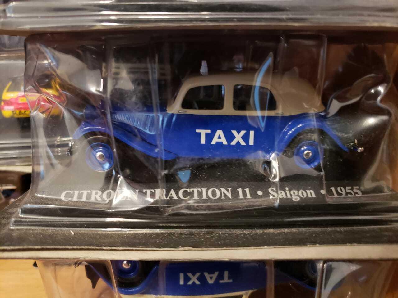 1//43 TAXI CITROEN TRACTION AVANT MADRID 1955 NEGRO