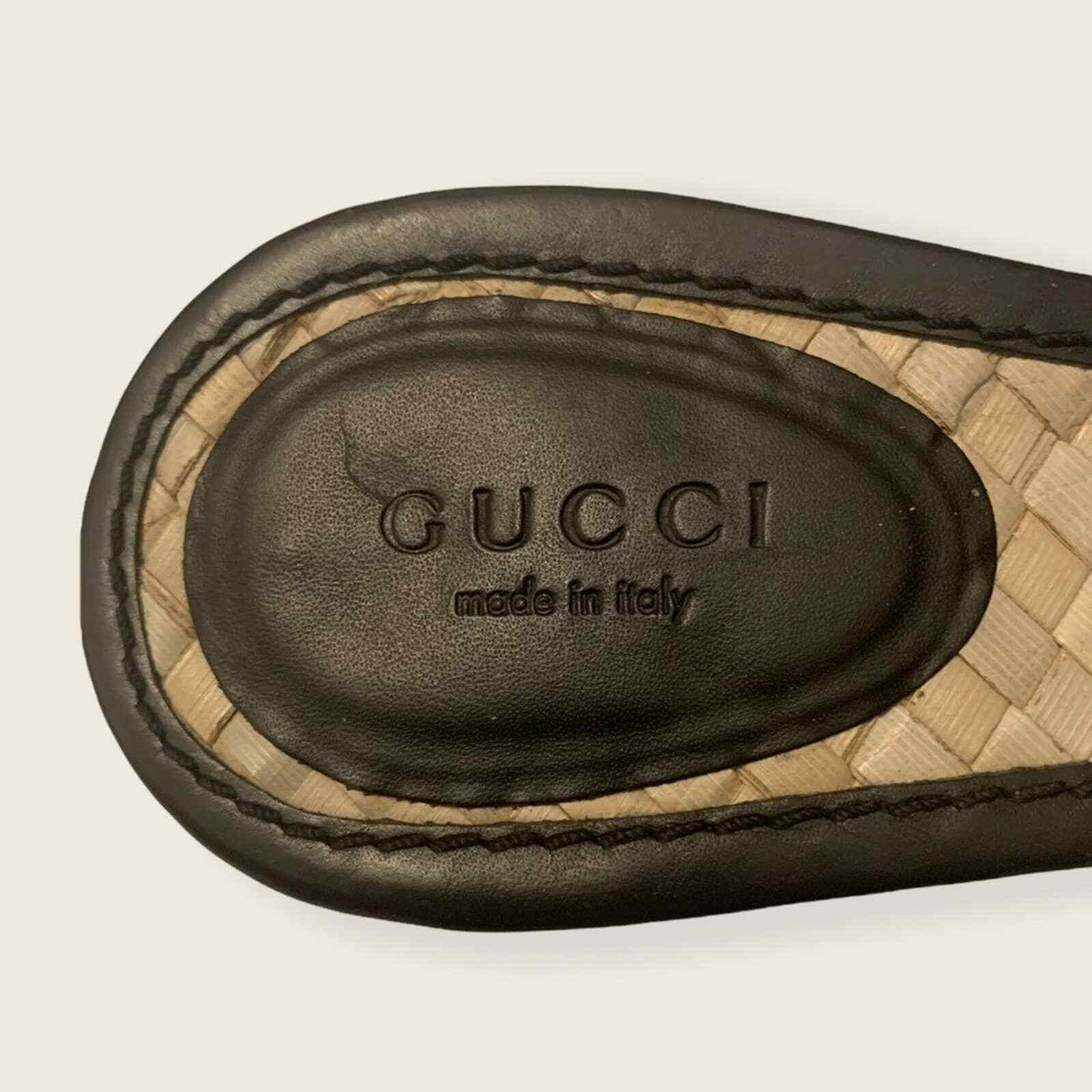Vintage Gucci Strappy Sandals - image 7