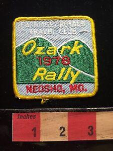 Rv For Sale Springfield Mo >> Vtg NEOSHO Missouri Patch 1978 Ozark Rally Carriage Royals ...