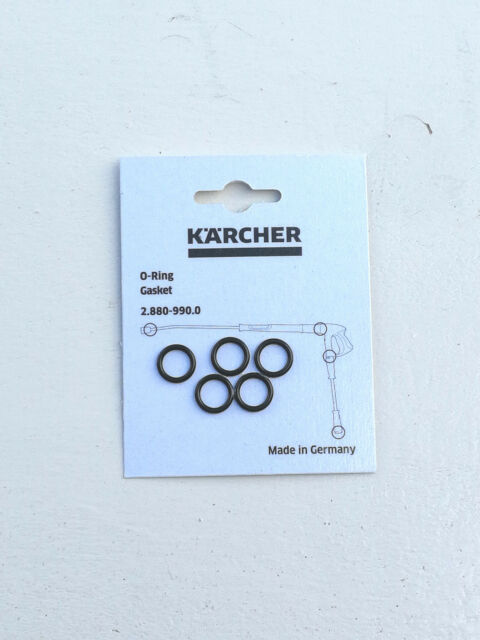 Karcher 2.880-208.0 Pressure Washer Hose Nozzle Replacement O-Rings 20 Pack  2