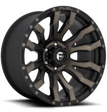 4 Fuel D674 Blitz 20x10 6x55 18mm Blackmachinedtint Wheels Rims 20 Inch Fits More Than One Vehicle