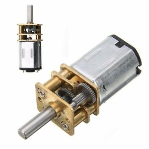 DC-6V-Speed-Reduction-Motor-200RPM-with-Metal-Gearbox-Replacement-N20-RC-Car-DIY