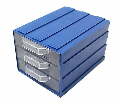 Series A Draw Box Plastic Parts Storage Draws Unit Modular Slot Together System