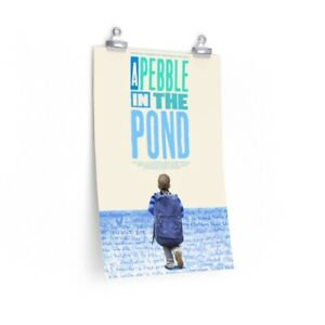 Official Poster for A Pebble in the Pond