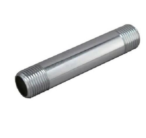 Keeney 272977 1//2-in x 4-inch Chrome Nipple Iron Pipe