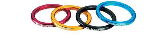 """KCNC  1 1//8 /""""ROUGE 3 5 10 14 20 MM Standard spacer headset red blue stem vpvpvvv"""