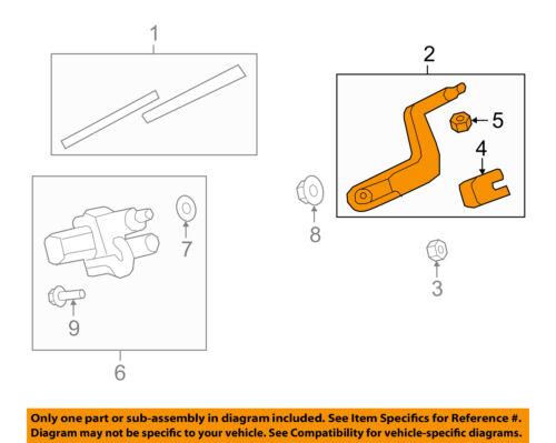 GM OEM Wiper-Rear Window Arm 15276248