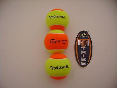 30 Palline Balls Beach Tennis Quicksand Itf Appr Stage 2
