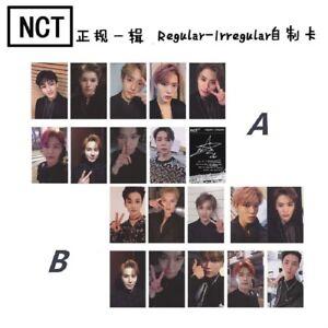Kpop-NCT-127-Regular-Irregular-Photo-Cards-New-Album-Autograph-Photocards-Gift