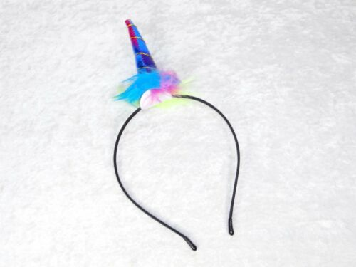 Magical Enchanted Unicorn Horn Headband Kids Fairy Tale Party Variety of Colors