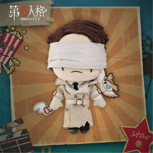 Identity V Original Survivor Eli Clark Seer Plush Doll Tiger Skin Toy Cosplay