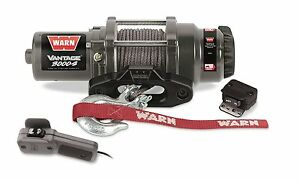 Warn Powersports winch synthetic rope 3000lb