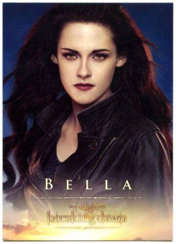 C1650 #2 Twilight Breaking Dawn Part 2 2012 Trade Card Bella Kristen Stewart