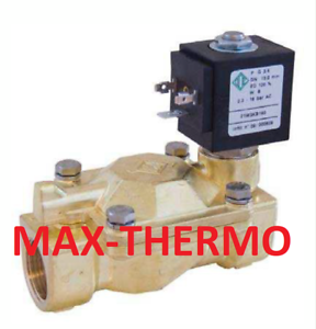 "O.D.E  SOLENOID VALVE 1//2/"" FOR  HOT WATER ESPRESSO  STEAMER 24V OR 110V OR 230V"