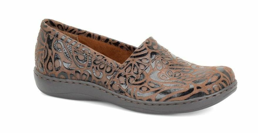 NEW BORN B.O.C HOWELL BROWN C95283 TOOLED SHOES WOMENS 7 C95283 BROWN 5bd843