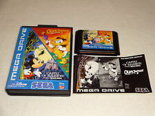 Disney Collection quackshot & Castle of Illusion Mega Drive juego