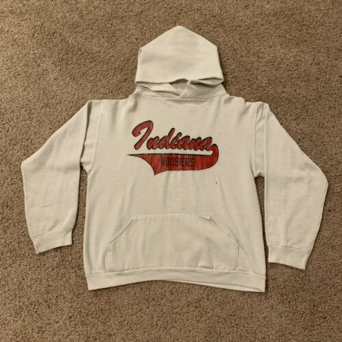 RARE Vintage 70s Russell Athletic Hoodie Indiana … - image 1