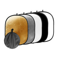 90x120cm 5 in1 Portable Light Disc Collapsible Photo Studio Reflector