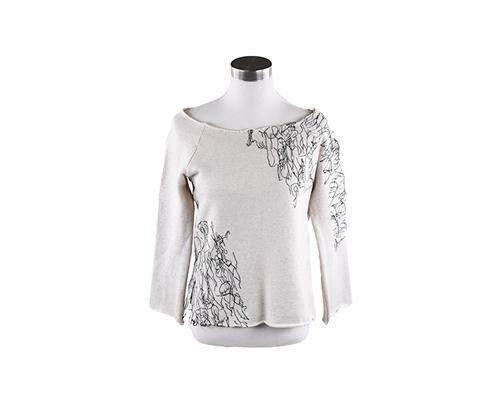 Worn on Screen by Taissa Taissa Taissa Farmiga   Zoe Benson scribble sweater, size M 00b103