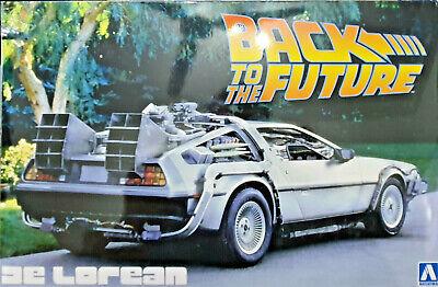 Obbediente De Lorean Ritorno Al Futuro Back To The Future Part - Aoshima Kit 1:24