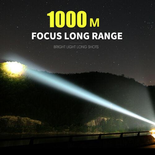 90000lm Shadowhawk Super-bright Flashlight CREE LED P70 Tactical Torch Light US