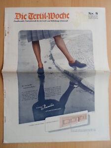DIE-TEXTIL-WOCHE-8-21-Februar-1942-Mode-Werbung-Glaeser-Imun