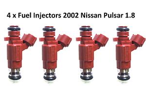 4 FUEL INJECTOR INJECTORS SUIT NISSAN PULSAR N16 2002 1.8 FBJB100