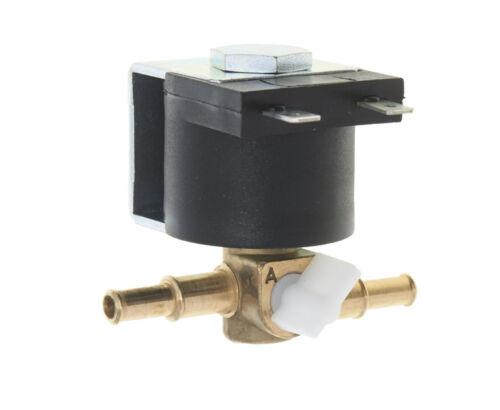 Tomasetto Benzin Absperrventil Magnetventil 12V mit Halter Benzinabschaltventil