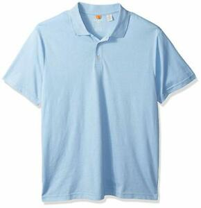 Dockers-Men-039-s-Washed-Pique-Polo-Short-Sleeve-Large