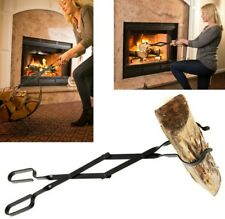 Epica Fireplace Tongs, 26\ Long, Log Grabber
