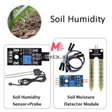 Soil Humidity Hygrometer Moisture Detection Sensor Corrosion Resistance Probe
