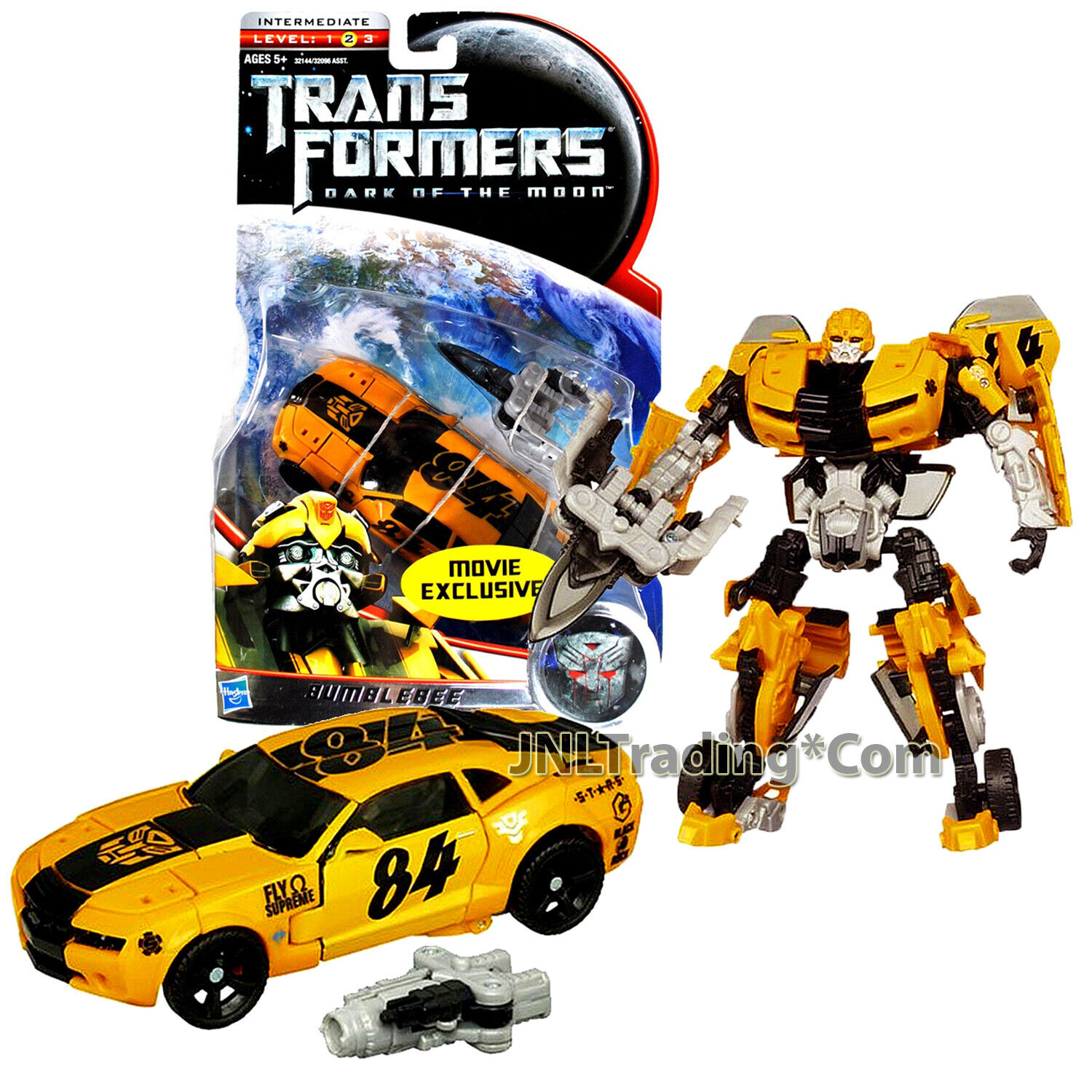 Yr 2010 Transformers Dark of the Moon Deluxe classe 6  cifra Exclusive BUMBLEBEE