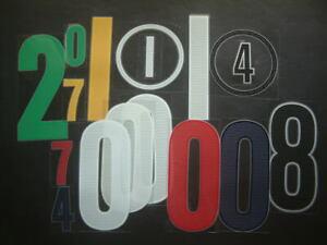 NUMERI misti stagioni varie NIKE mix 2004-2006 seasons NUMBERS loose