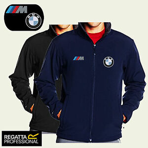 Image is loading BMW-M-POWER-FULL-ZIP-SOFT-SHELL-JACKET-
